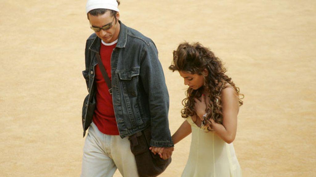 Mónica Cruz y Fabian Mazzei