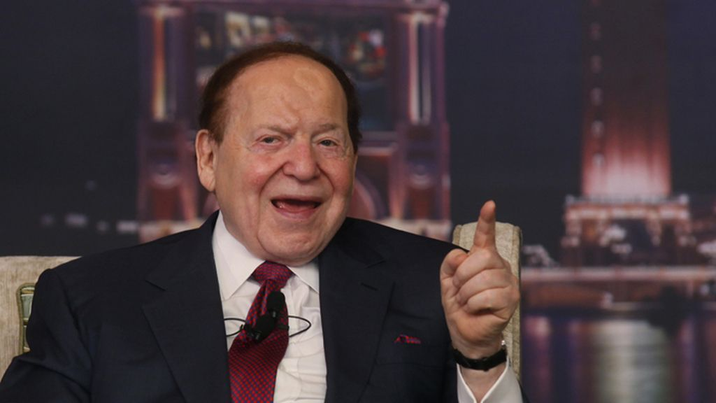 Sheldon Adelson, presidente de Las Vegas Sands