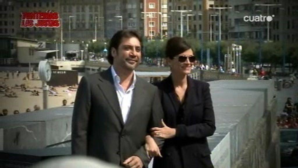 Romina, con Julia Roberts en Donostia