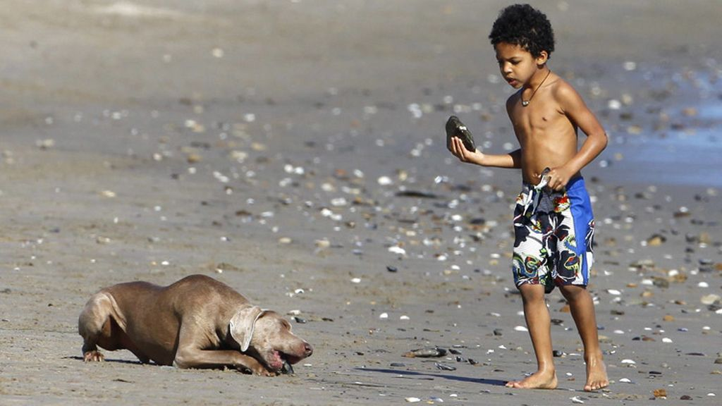 Heidi Klum en la playa, una frase que no suena igual desde que no está Seal