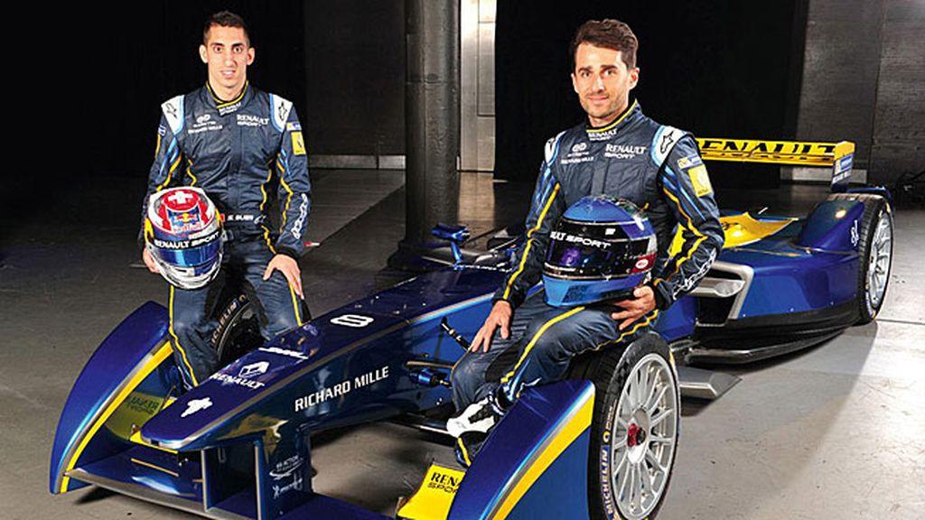 e.dams-Renault: Sébastien Buemi y Nicolas Prost