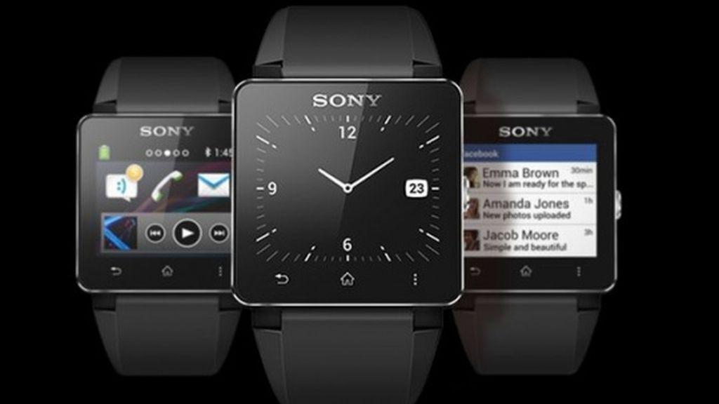 SmartWatch,Sony,resistente al agua,reloj inteligente