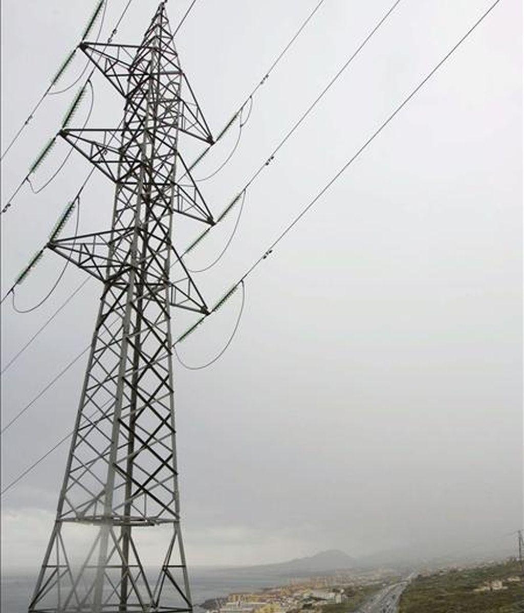 Una torre de alta tensión. EFE/Archivo