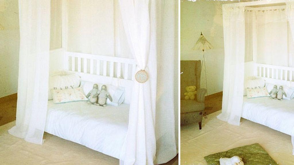 Así es la camita y la habitación de su hija