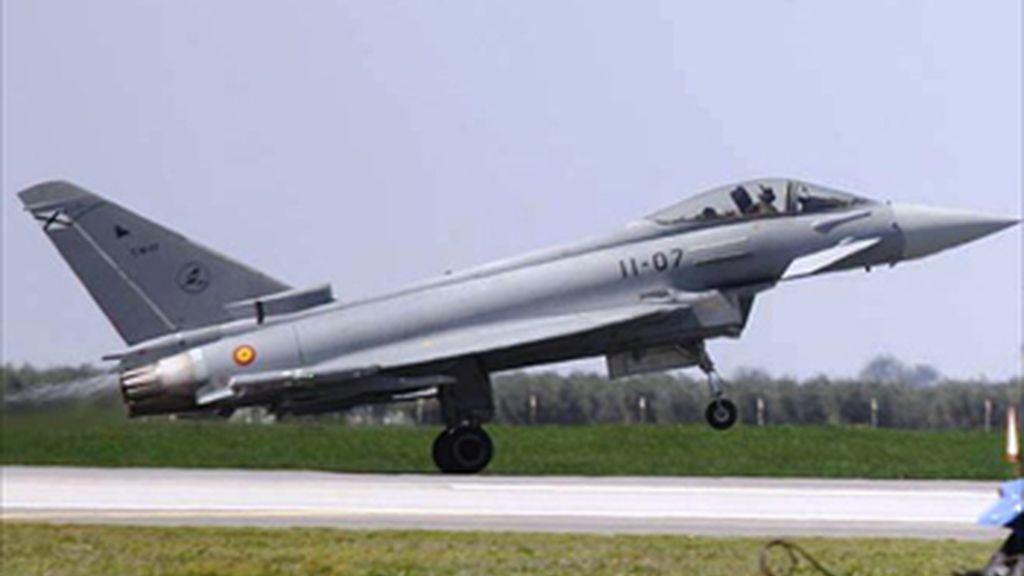 Fallece un militar saudí tras estrellarse un Eurofighter en Morón