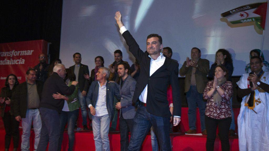 Antonio Maíllo cierra campaña en Sevilla