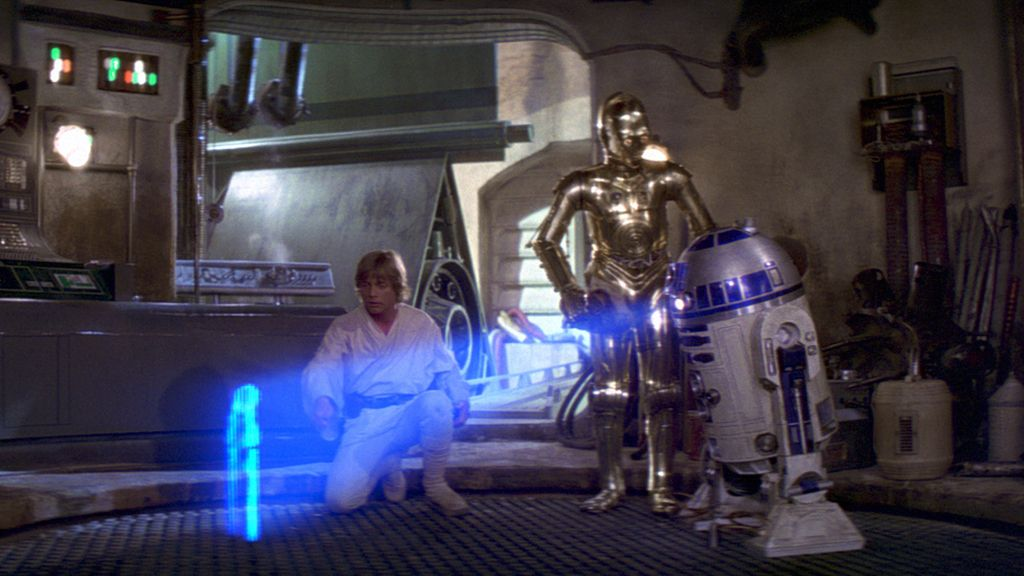 """Ayúdame Obi-Wan, eres mi única esperanza"""