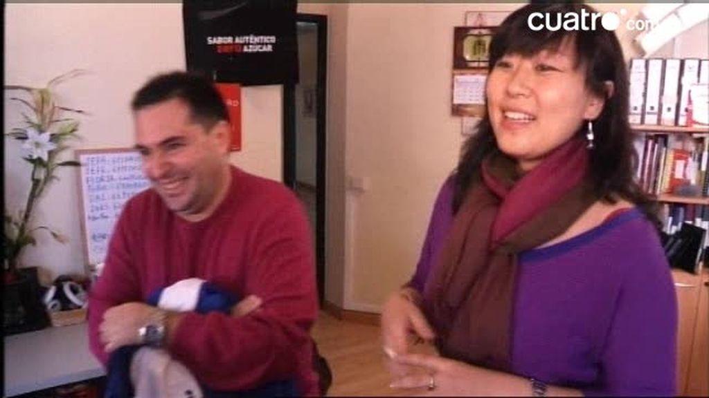 Trabajo de chinos en España