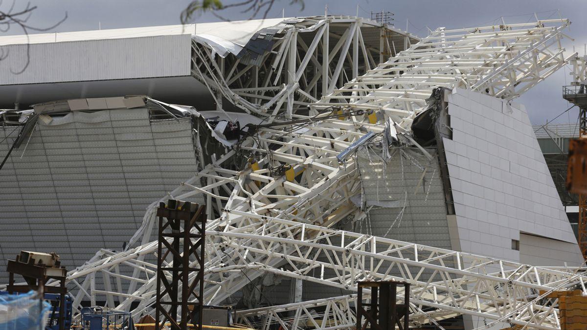 Dos muertos en las obras del estadio Arena de Sao Paulo