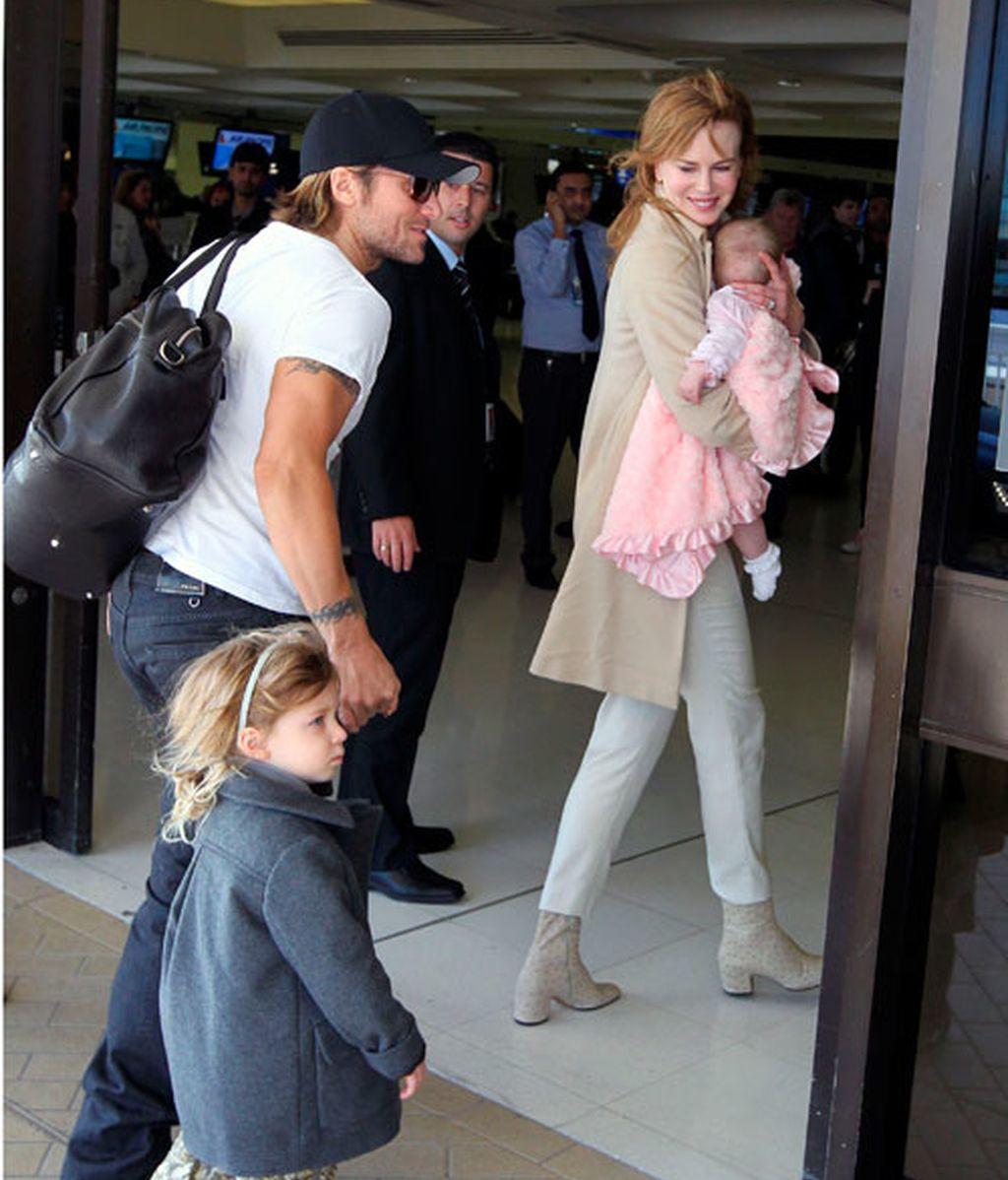 Nicole Kidman presume de hija en Sidney