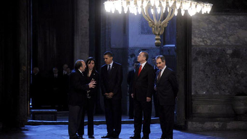 Obama, de visita en Turquía