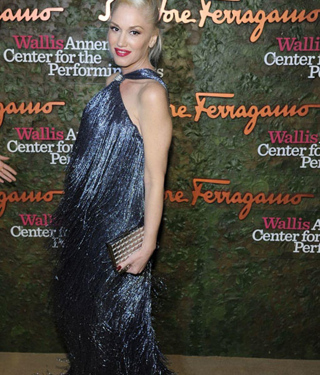 Gwen Stefani presumió de embarazo, está esperando su tercer hijo