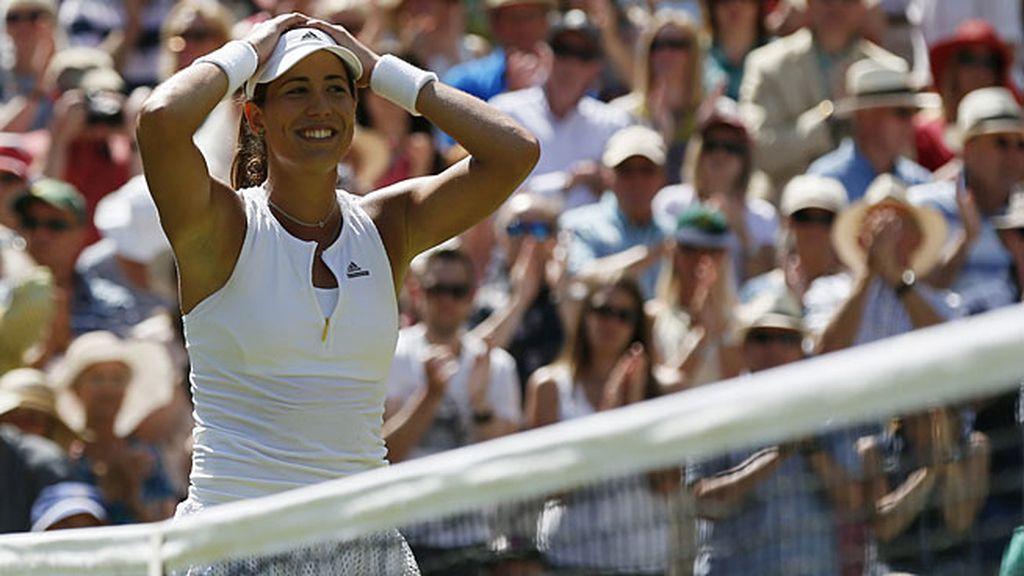 La tenista española disputará este sábado la gran final