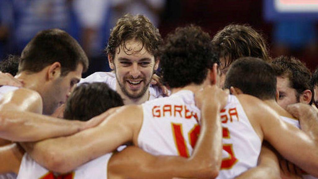 Selección espoñola de baloncesto 2012