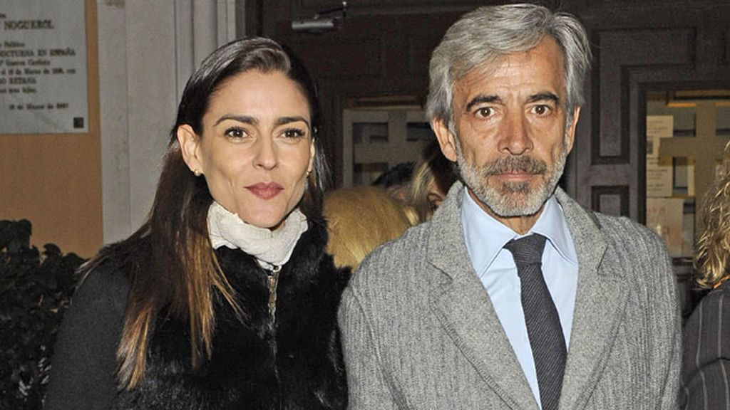 Imanol Arias e Irene Meritxell mostraron su apoyo
