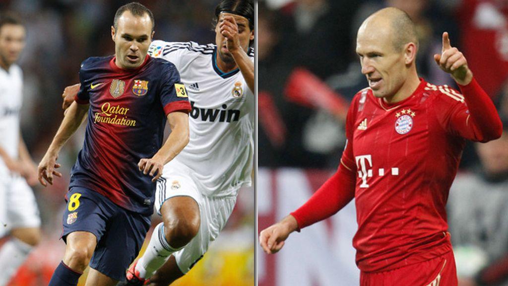 Robben - Iniesta