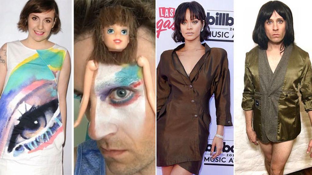 Su ojo puede ser el cuerpo de Lena Dunham y Katy Perry con una americana del revés