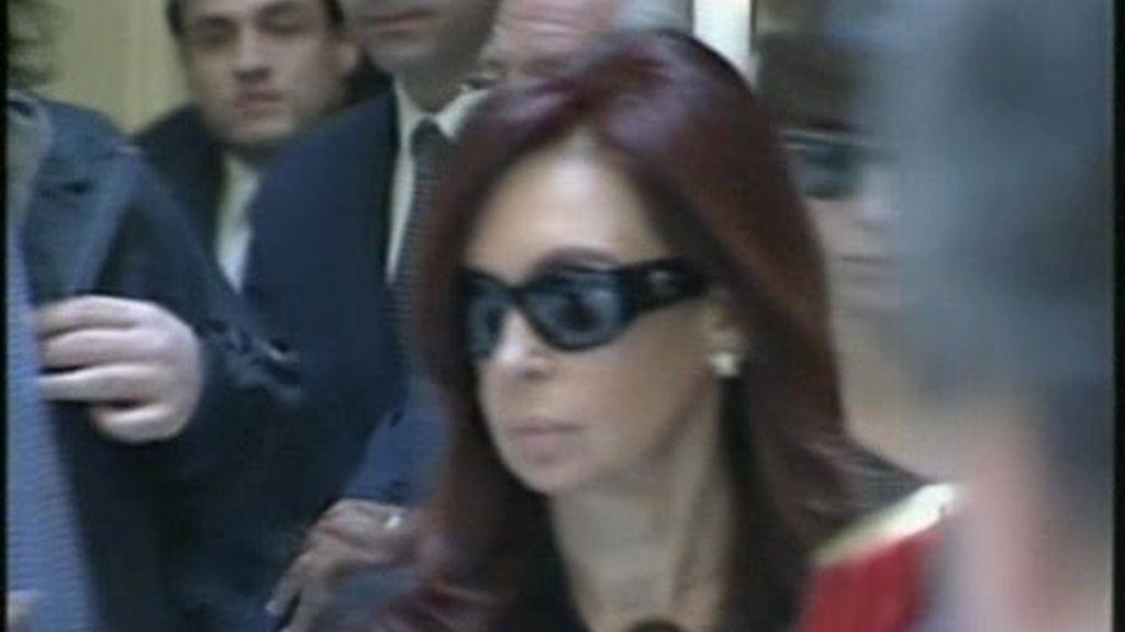 Argentina muestra su afecto a Cristina Fernández
