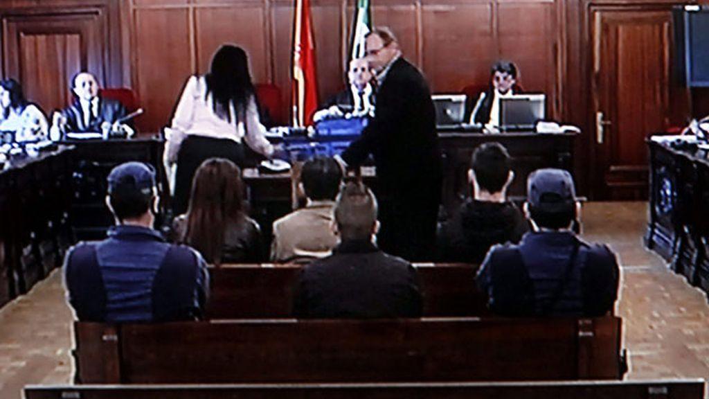 Antonio del Castillo durante la declaración en el juicio por la muerte y desaparición de su hija Marta