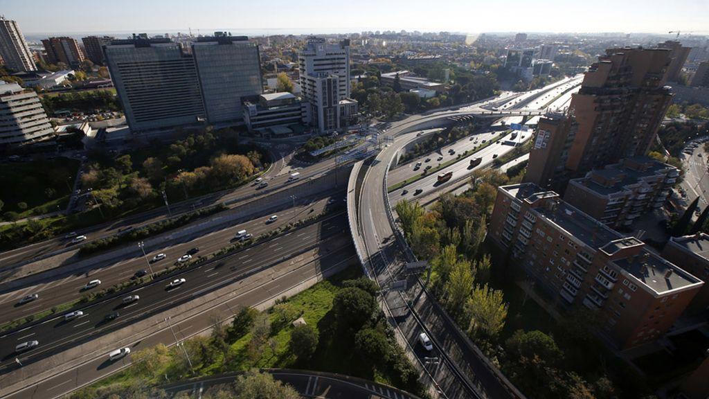 Limitación de velocidad en la M-30 para reducir los niveles de contaminación