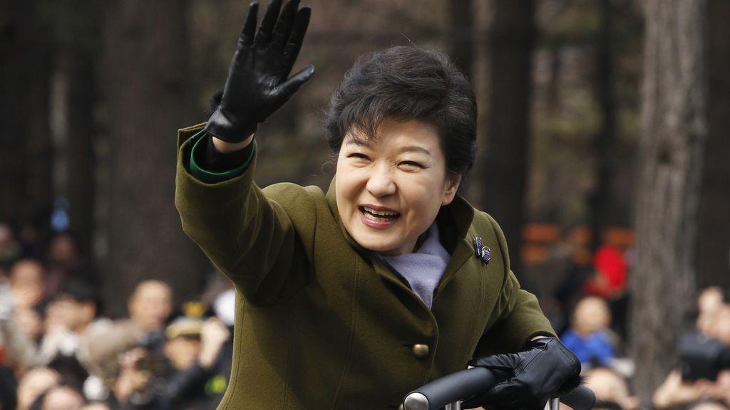 Park Geun Hye, investida nueva presidenta de Corea del Sur