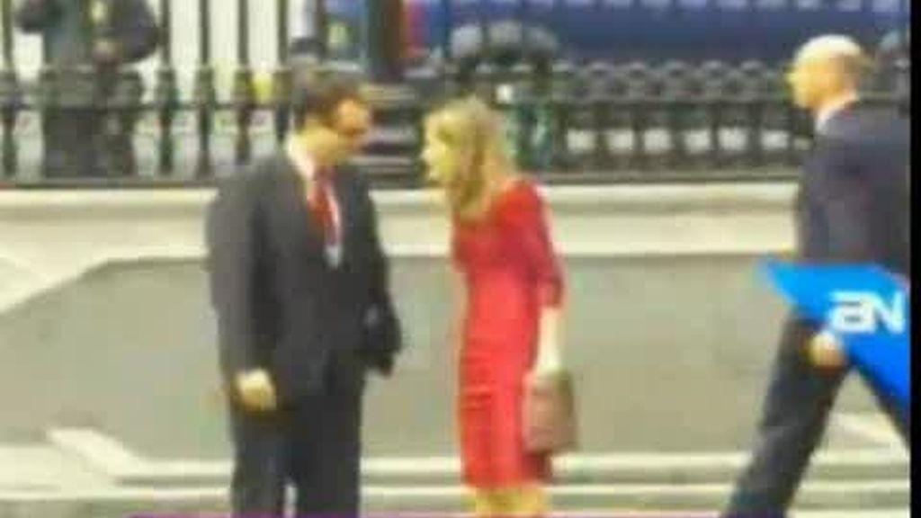 Fallo de protocolo con la Princesa Letizia