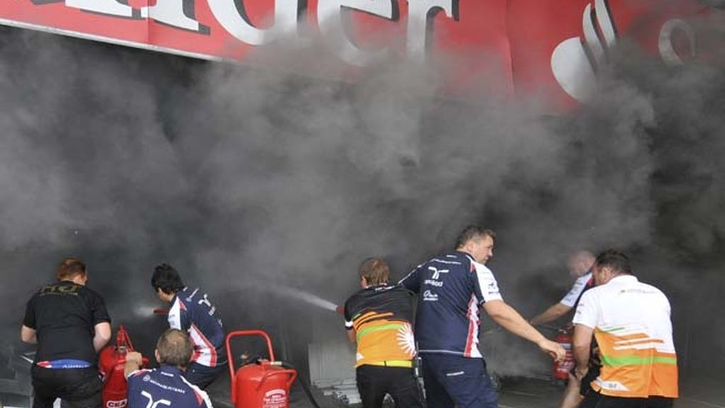 Incendio en Montmeló