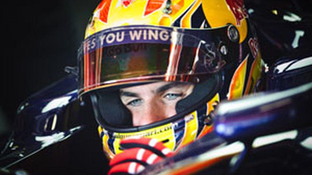 El piloto español de F1 Jaime Alguersuari. Foto: Gtres