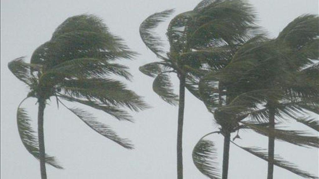 """Está previsto que el fenómeno, que incluirá """"vientos con características de huracanados"""" y rachas que pueden superar los 120 kilómetros por hora, se produzca entre las 20.00 hora local (23.00 GMT) del domingo y las 06.00 hora local (09.00 GMT del lunes). EFE/Archivo"""