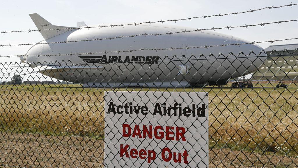 El avión más grande del mundo se estrella al segundo vuelo