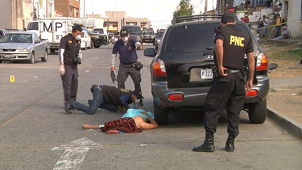 'Policía internacional' en Guatemala