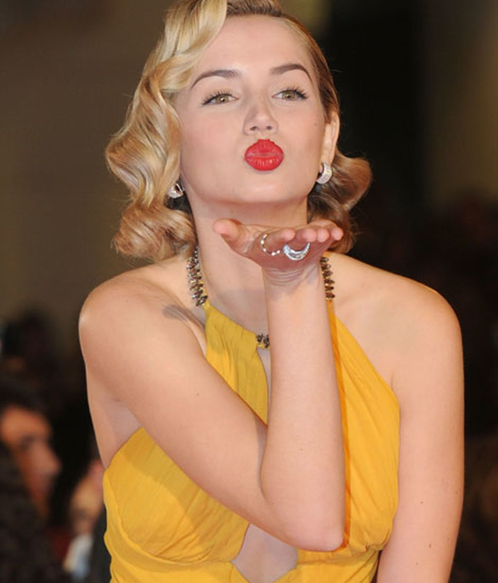 Ana de Armas a lo 'Marilyn Monroe'