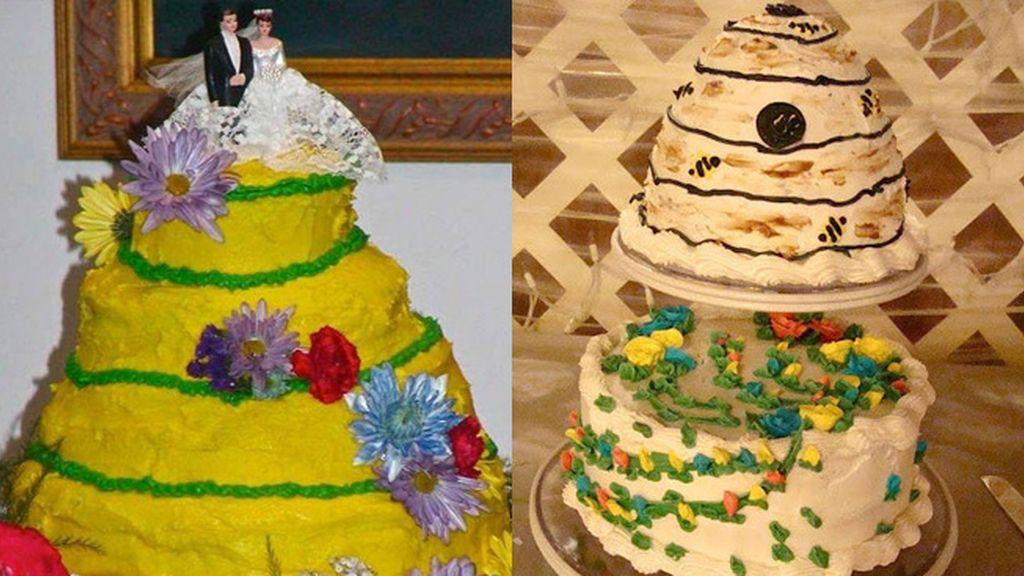 Las peores tartas de boda