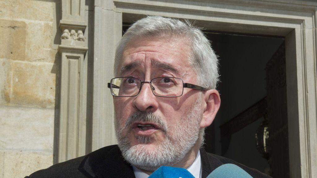 El exconsejero andaluz Antonio Ávila, a su salida del Tribunal Superior de Justicia de Andalucía en Granada