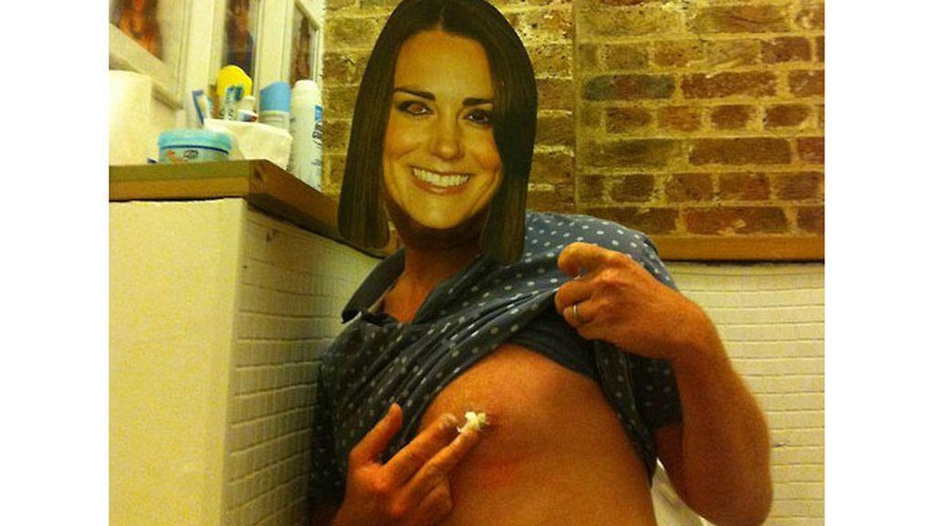 El derecho de Kate Middleton a mostrar sus pezones