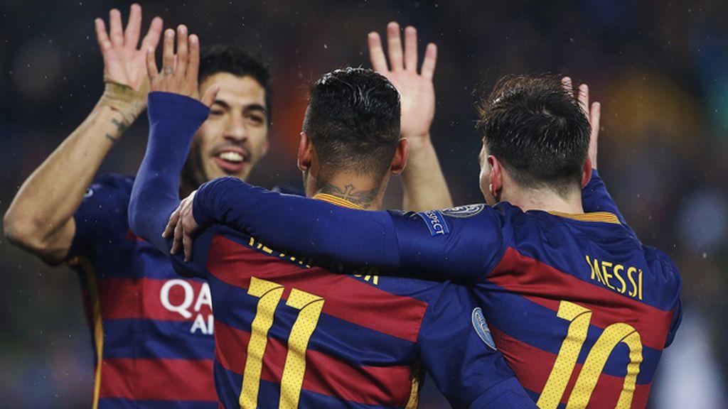 El tridente 'archipiélago' lleva al Barça a cuartos