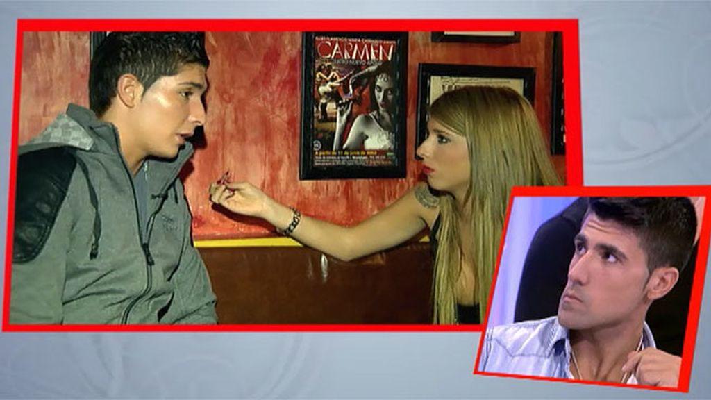 """Andrea a Álex: """"Quizás te vea como un amigo"""""""