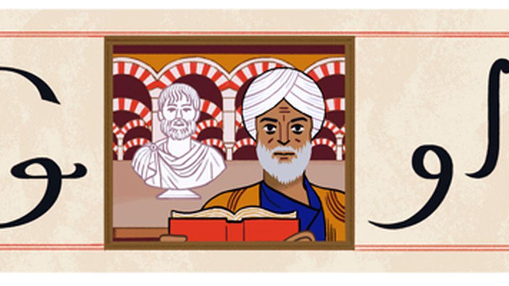 El filósofo Averroes protagoniza el 'doodle' de Google