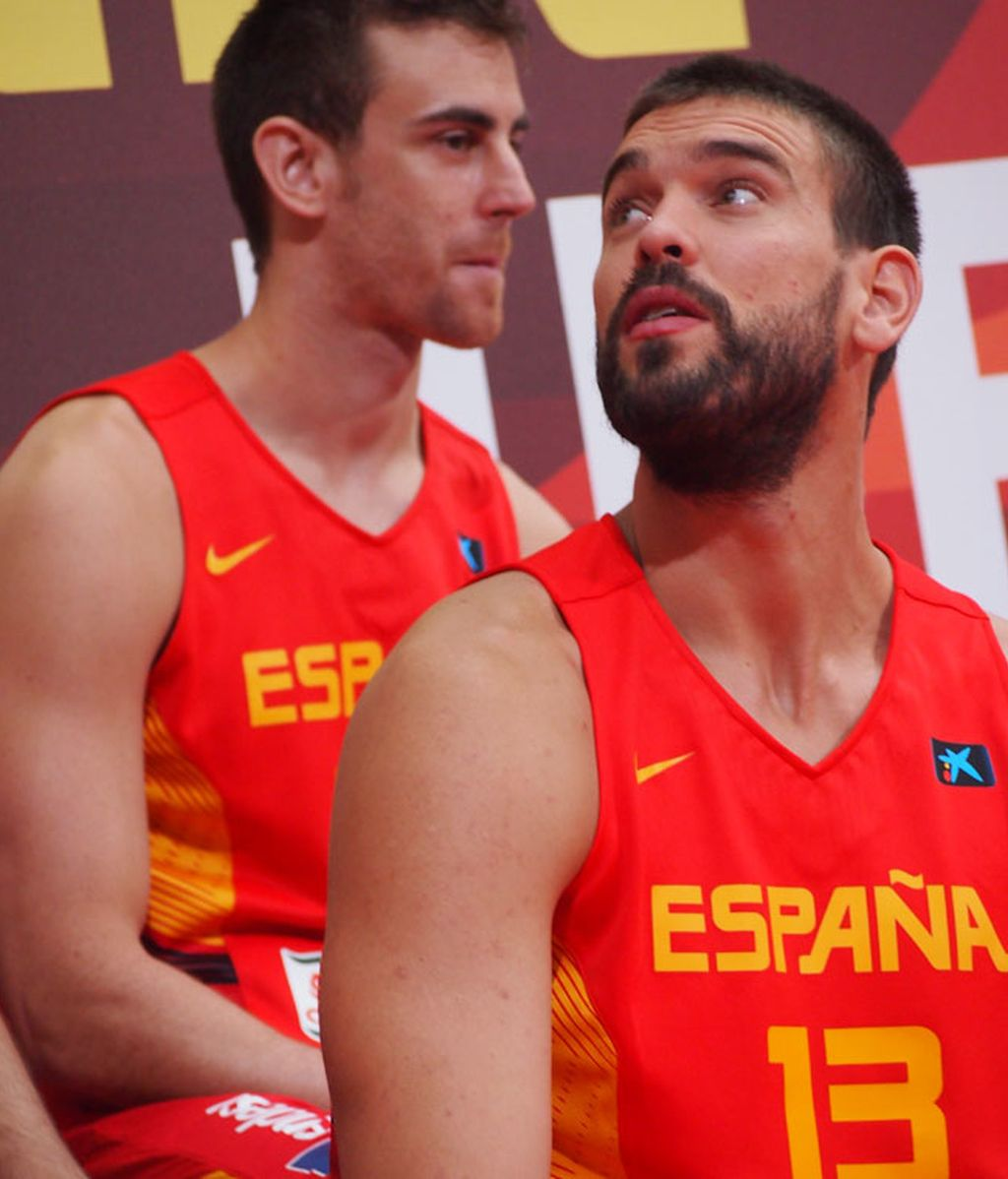Marc Gasol y Willy Hernangómez