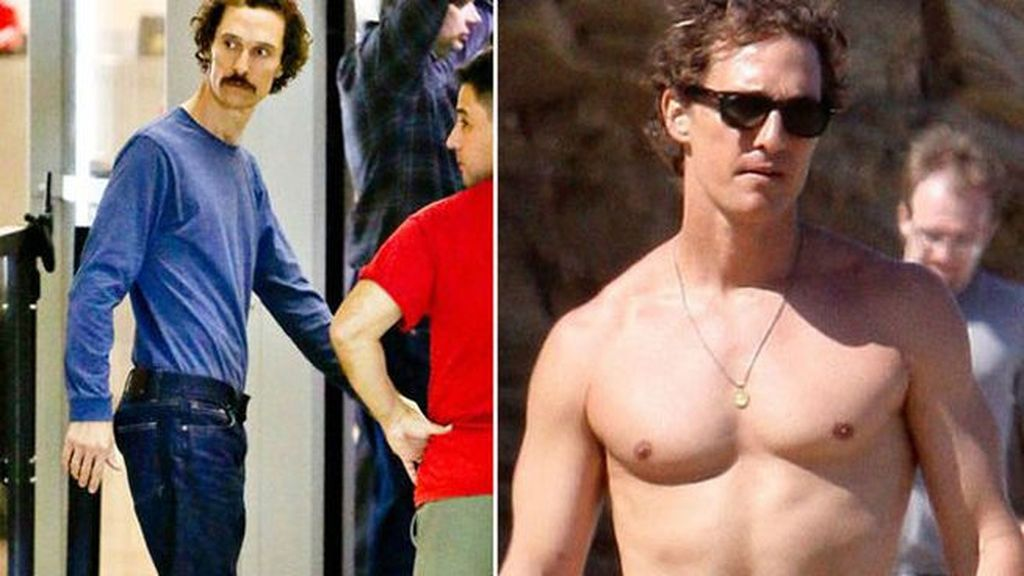 Matthew McConaughey para Dallas Buyers Club