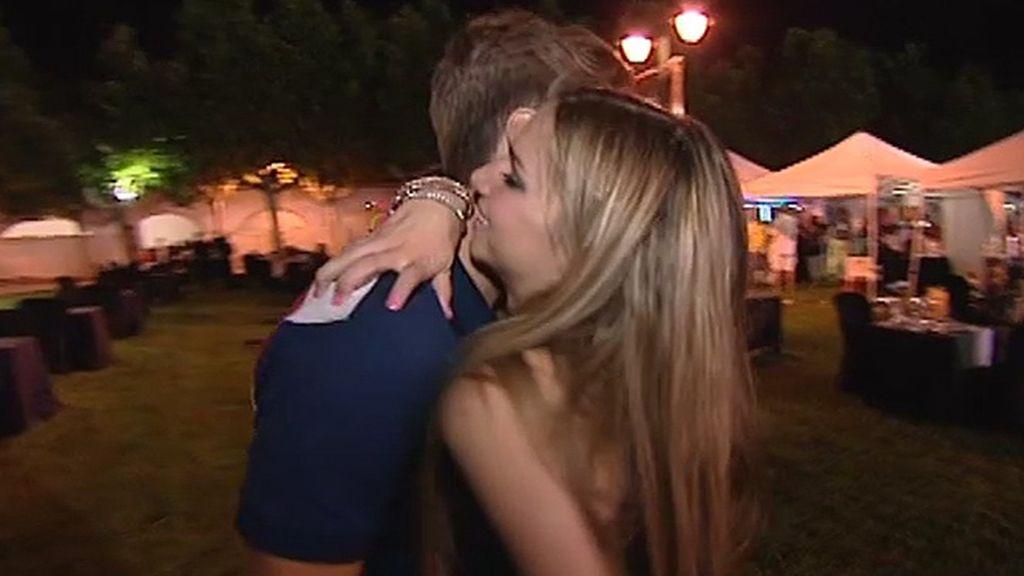 Los besos con el príncipe azul