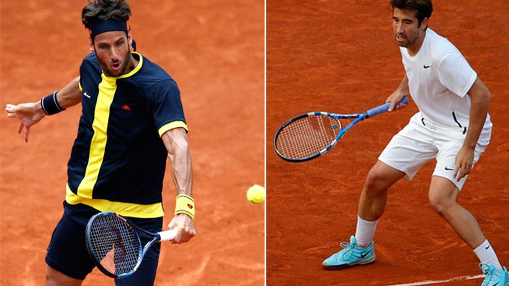 Feliciano López y Marc López pelearán por el título en dobles