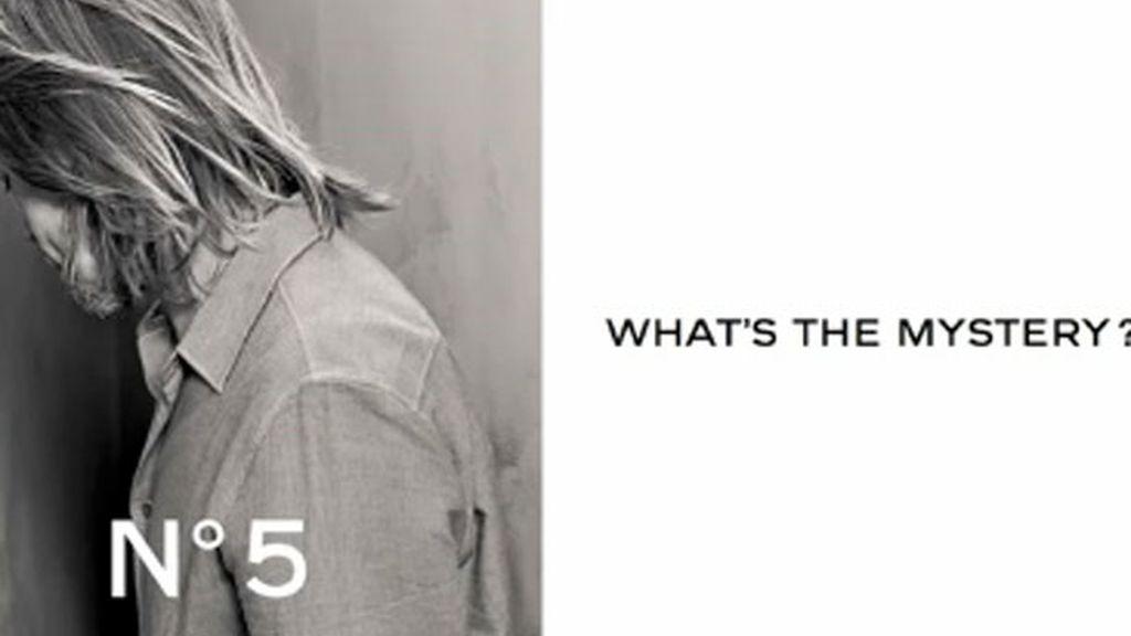 Brad Pitt, la nueva imagen de Chanel nº5