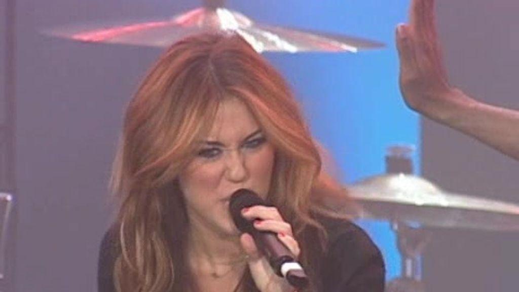 Miley Cyrus muestra su lado más salvaje en Rock in Rio