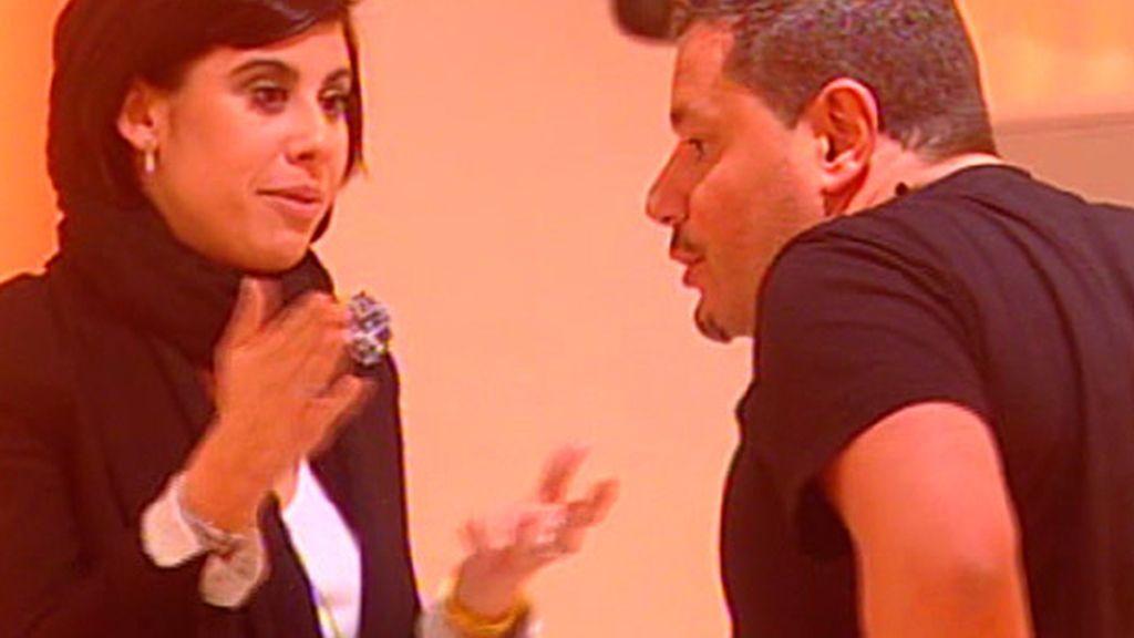 El reencuentro de Jorge y Silvia