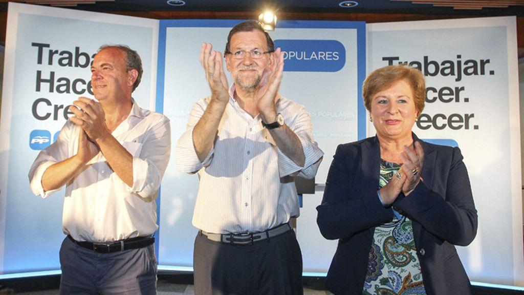 Rajoy y Monago en Villanueva de la Serena