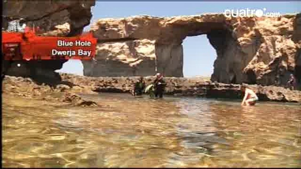 Malta: The blue hole