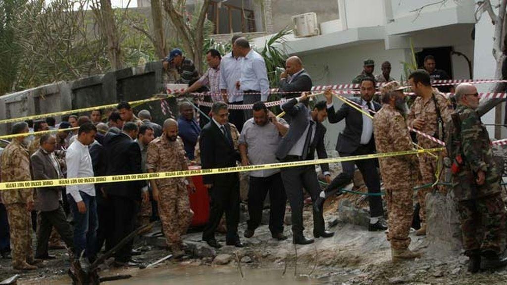 Heridos dos gendarmes en un atentado contra la Embajada de Francia en Libia