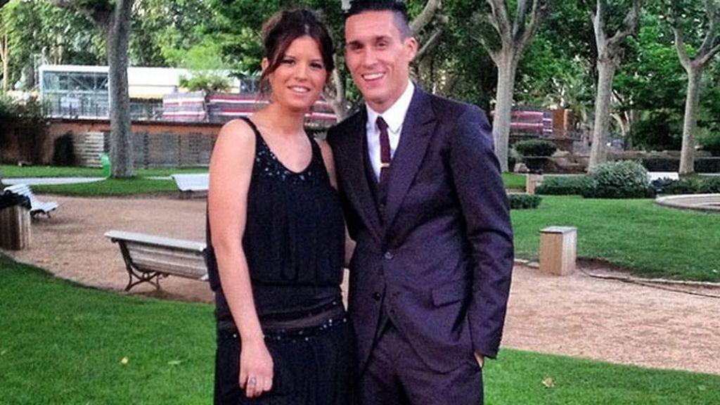 Callejón y Marta Ponsati dejaron a su pequeña en casa
