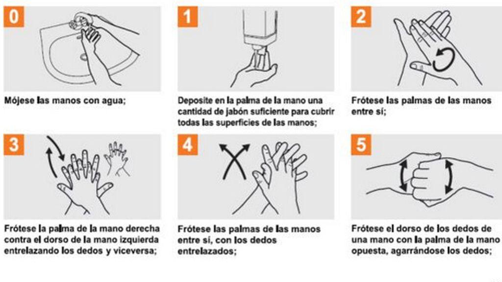 Lavarse las manos antes de comer y después de ir al baño puede salvar vidas